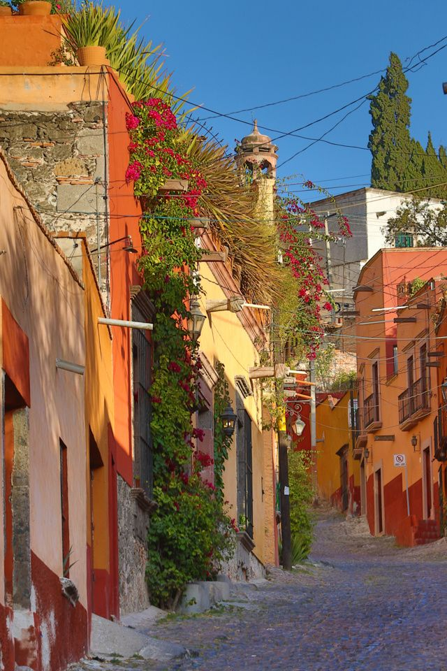 San Miguel de Allende - the charming streets of #Mexico