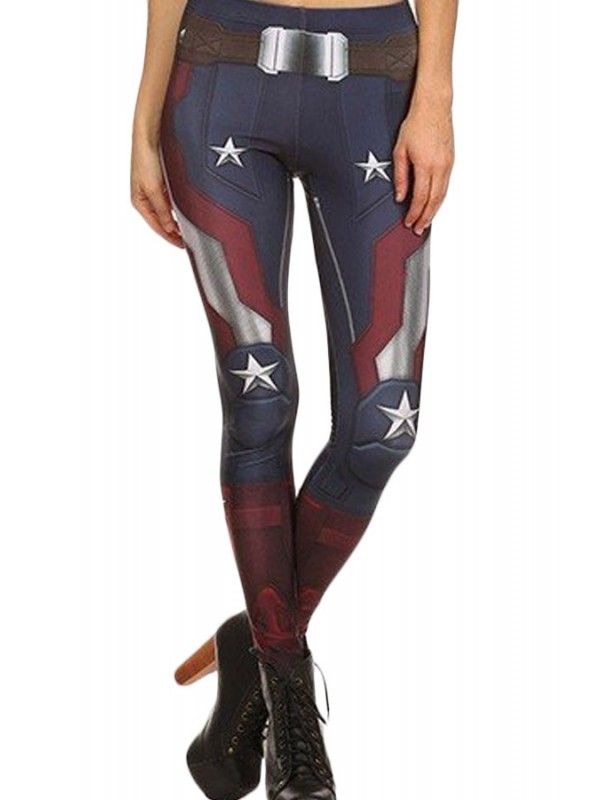 Captain America leggings! Why do they have to be so expensive :(