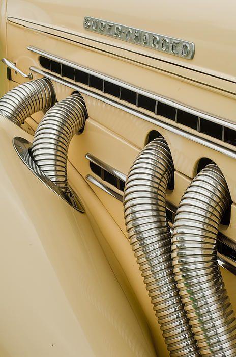 1935 Auburn Model 851 Supercharged Speedster - Jill Reger