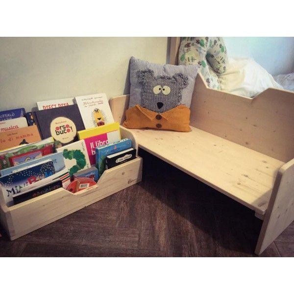 Oltre 25 fantastiche idee su sedie da lettura su pinterest - Porta libri montessori ...