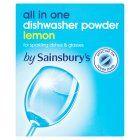 Image for Sainsbury's Dishwasher Powder 1kg from Sainsbury's