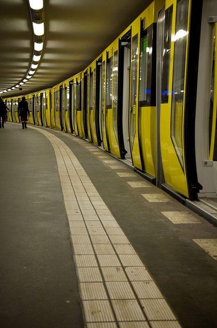 U-Bahn in Berlin, Deutschland