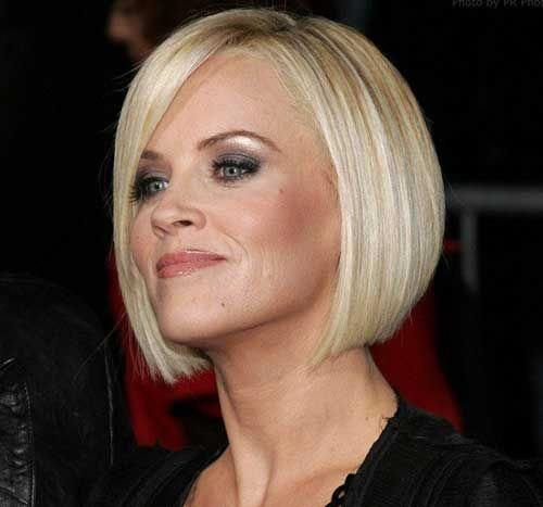 Jenny Mccarthy Short Bob Haircut Shortbob Haare Frisieren Haarschnitt Kurzhaarschnitte