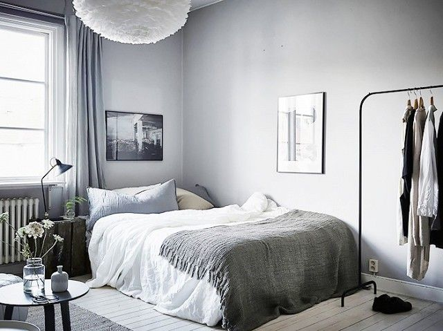 if your teen is into cool tones this bedroom design is a perfect fit - Simple Bedroom Design