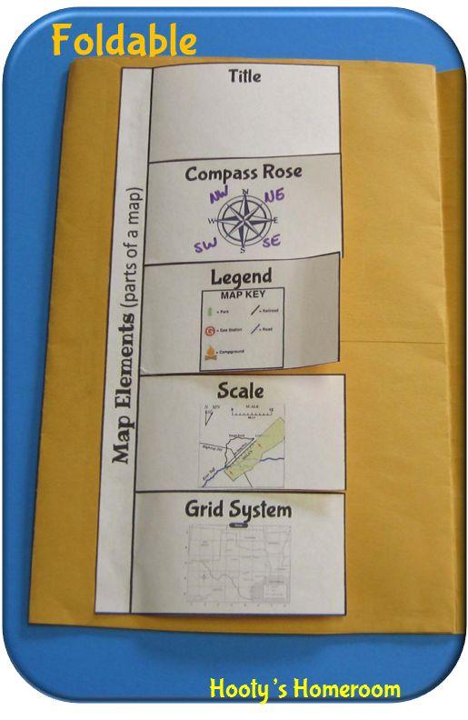 Hooty's Homeroom: map skills