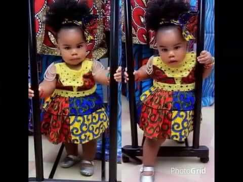 b8682e6efe4d 50+ Cute Ankara Styles for Kids 2018  Latest Ankara Styles for ...