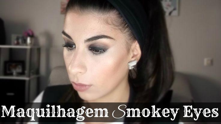 Maquilhagem Smokey Eyes   Be Creative Be You