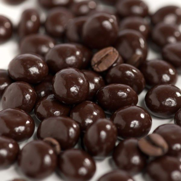 Dark Chocolate Covered Espresso Coffee Beans, 2Lbs