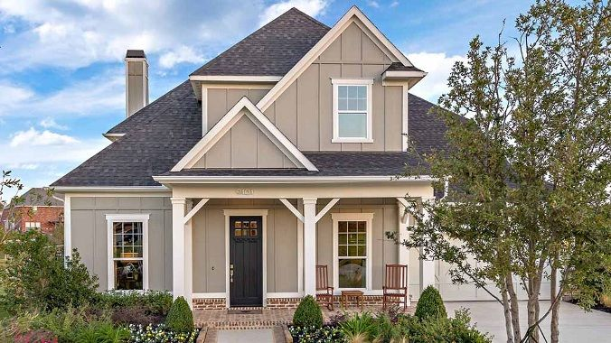 Craftsman new homes lantana tx craftsman style homes for American home choice