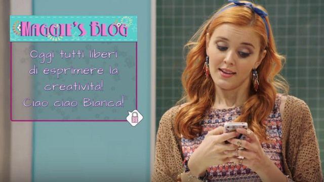Il blog di Maggie dalla serie TV Maggie & Bianca in onda su Rai Gulp | Maggie & Bianca Fashion Friends