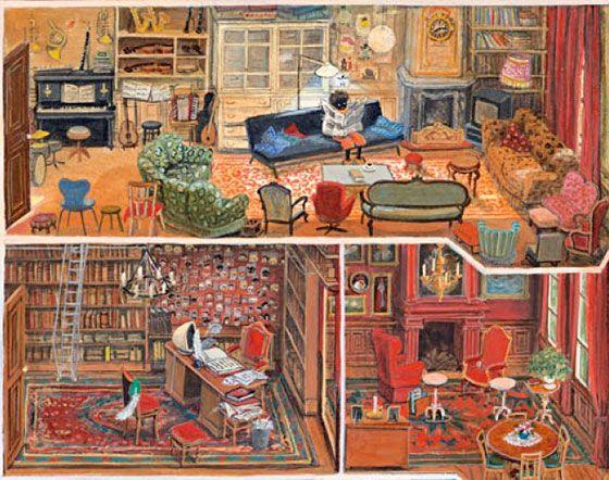Het huis van Sinterklaas volgens Charlotte Dematons
