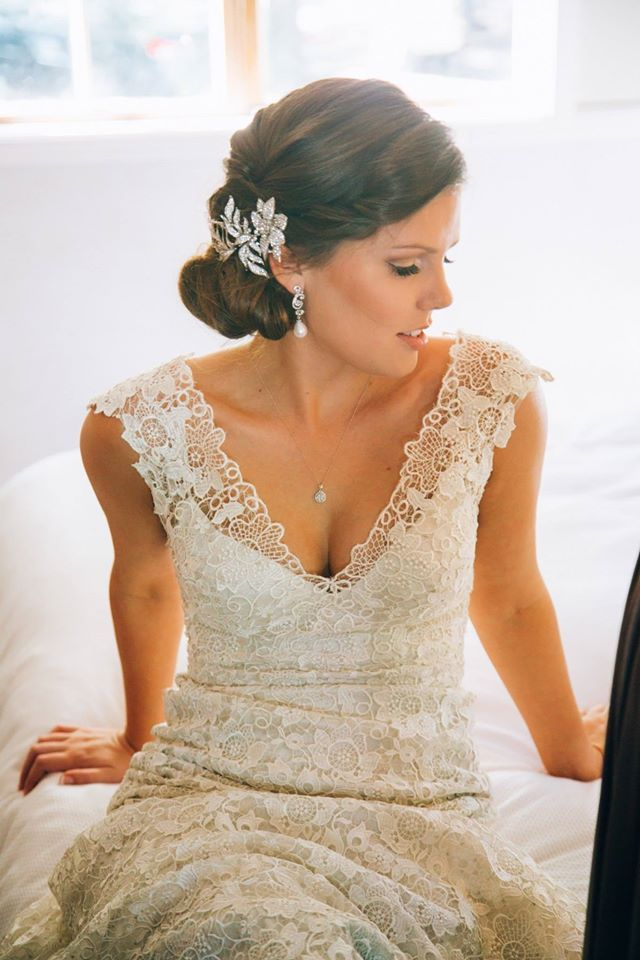 Romantic Twist - Bridal / Wedding / Formal / Ball / Up do hair styles