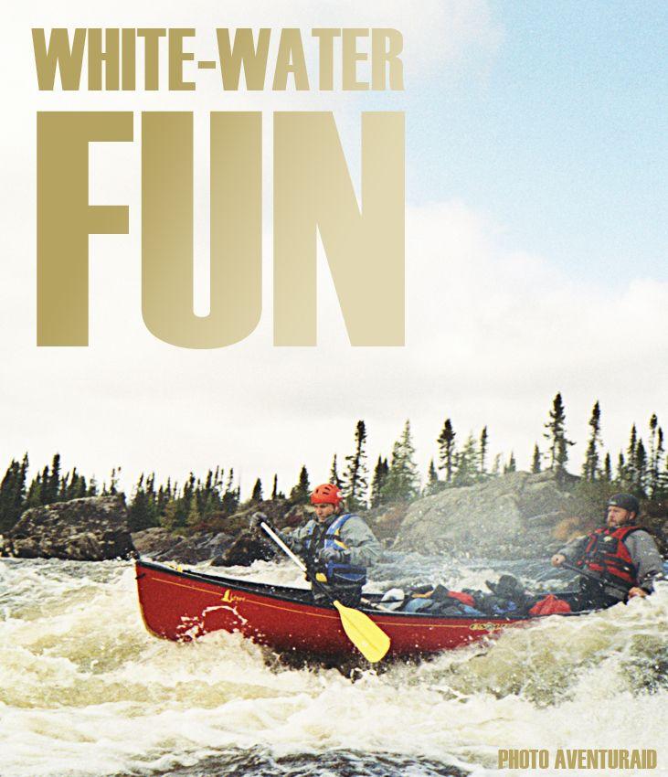 Reason #47 to visit Saguenay-Lac-Saint-Jean region this summer : White-water fun. #175reasons #QcOriginal