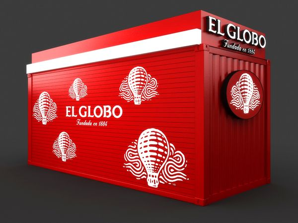 Mobile Container Café for El Globo on Behance