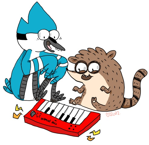 Regular Show! - Love this picture!
