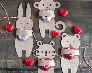 Valentine Candy Hugger Printable