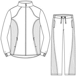 Escoge entre un gran surtido de moldes de ropa y patrones ropa bebes Conjunto 660 DAMA Conjuntos