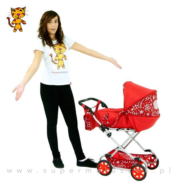Wózek dla lalek to sprawdzony prezent dla małej dziewczynki. #gift #girl #birthday #prezent #dziewczynka