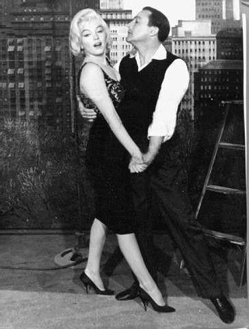 "Gene Kelly & Marilyn Monroe - Gene & Bing Crosby had cameo's in ""Let's Make Love""  1960  It starred Marilyn Monroe, Yves Montand & Tony Randall. It would be Marilyn's last musical film performance."