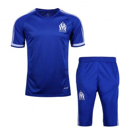 Maillot Training Marseille Bleu