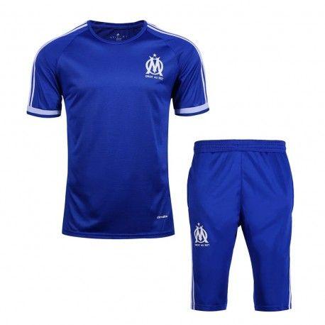 Maillot Training Marseille Bleu