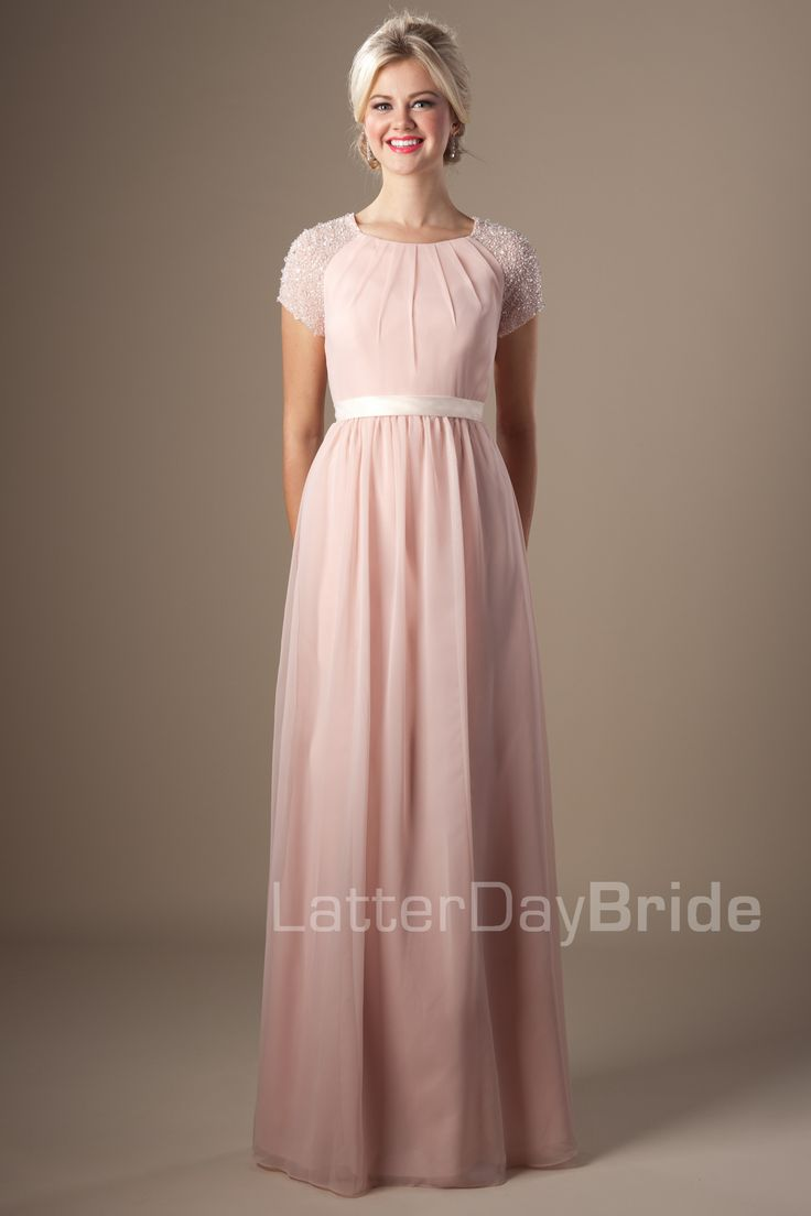 115 best Modest Bridesmaid and Prom Dresses images on Pinterest ...