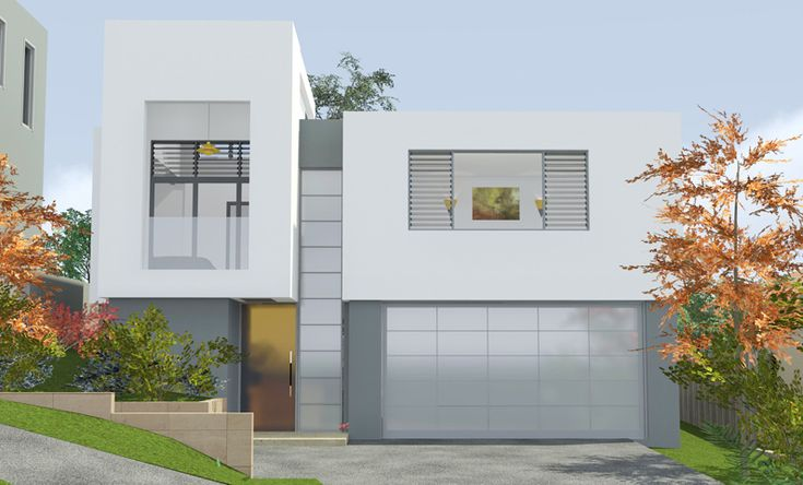 Cube House Seaforth - 3D Design Concept by All Australian Architecture