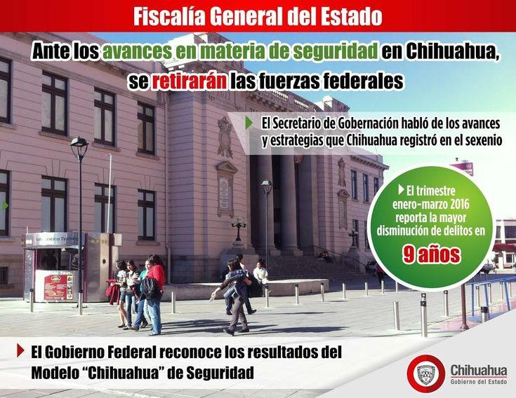 Ante los avances en materia de seguridad en Chihuahua, se retirarán las fuerzas federales | El Puntero