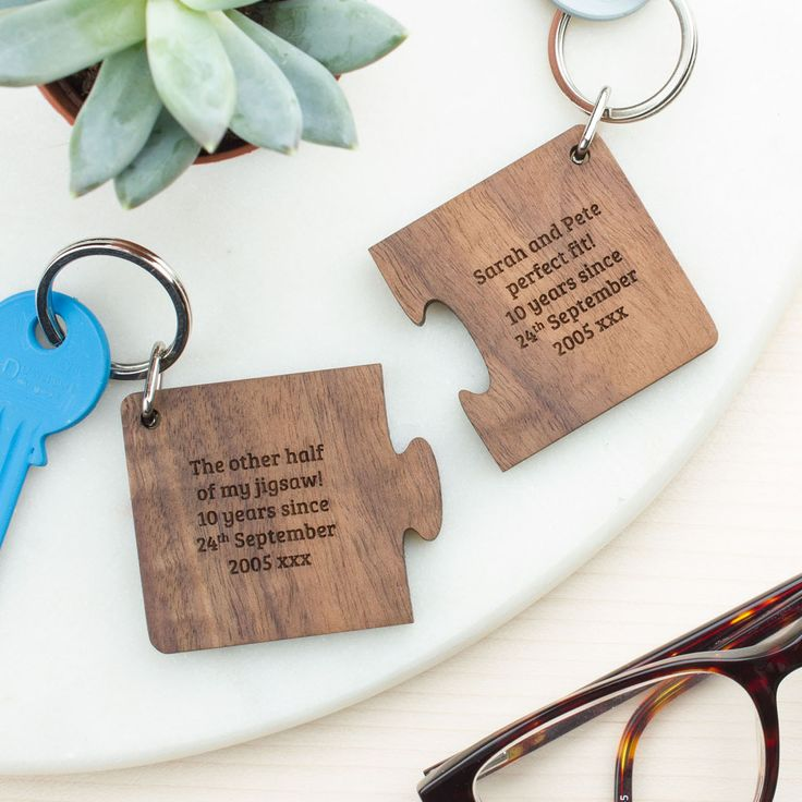 engraved keyrings father's day