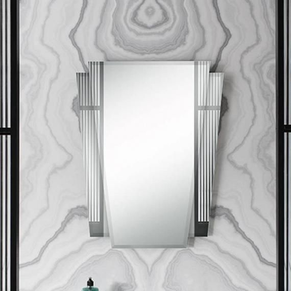 Art Deco Bathroom Mirror