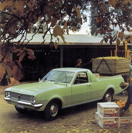 1970 Holden HG Kingswood Utility, Made in Australia by General Motors Holden. v@e
