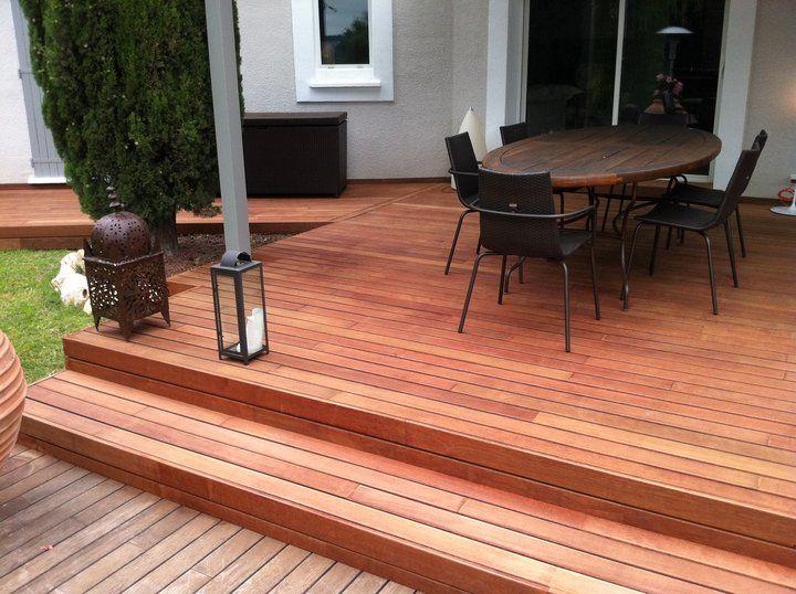 15 best Terrasse Merbau images on Pinterest Pool decks and Workshop - poser une terrasse bois sur sol meuble