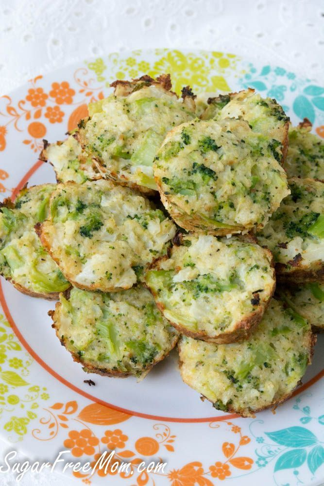 Broccoli Cauliflower Quinoa Bites