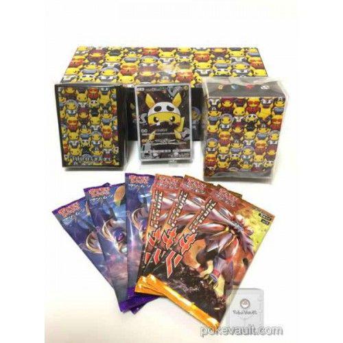 Pokemon Center 2016 Secret Teams Campaign #2 Pretend Evil Team Pikachu Card Box Set