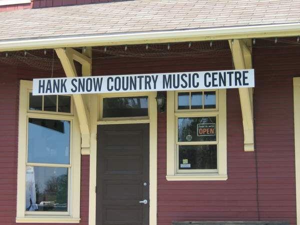 CNR Liverpool, Nova Scotia Station. Now the home of Hank Snow Music Centre.