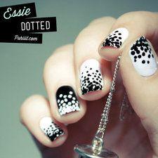 #nails #nailart #Nailpolish #polkadots