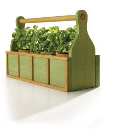 Indoor Herb Tote Tutorial Plant Stand Plans Pinterest