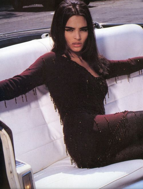 Talisa Soto photographed by Steven Meisel for Blumarine Fall / Winter 1990 #inspiration #blog #blogger #tumblr #fashion #style #models #photography #vogue http://www.midnight-charm.com/