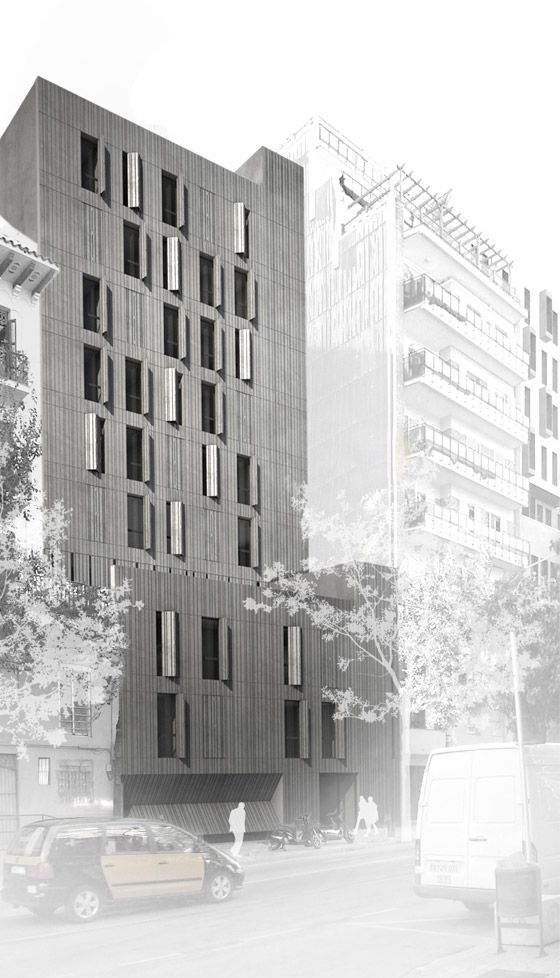 architecture render photomontage _dataAE