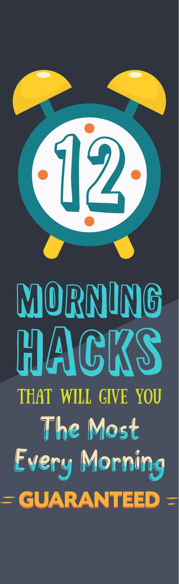 12 Morning Hacks That Will Give You The Most Energy Every Morning!