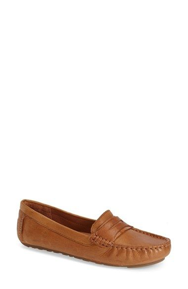 Free shipping and returns on Gentle Souls 'Portobello' Loafer (Women) at Nordstrom.com. A classic penny keeper furthers the borrowed-from-the-boys charm of a leather, moc-stitch loafer that's flexible and lightweight with comfort-minded construction. A supersoft leather lining provides a supple feel underfoot, while a PORON® memory-foam midsole cushions each step.