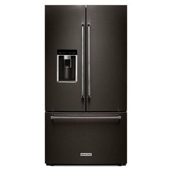 Kitchenaid 25 8 Cuft Black Stainless Steel 5 Door French: 1000+ Ideas About Cabinet Depth Refrigerator On Pinterest