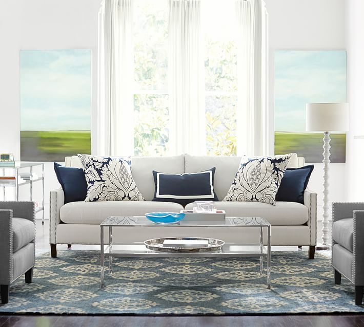 Pasadena Upholstered Grand Sofa Polyester Wrapped