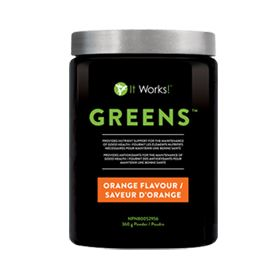 Greens Value Size  Orange Flavour