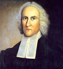 """Jonathan Edwards-- (1703-1758) was a revivalist preacher, philosopher, and Congregationalist Protestant theologian. Like most of the Puritans, he held to the Reformed theology. His colonial followers later distinguished themselves from other Congregationalists as """"New Lights"""" (endorsing the Great Awakening), as opposed to """"Old Lights"""" (non-revivalists). Edwards is widely regarded as """"one of America's most important and original philosophical theologians""""."""