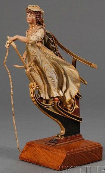 Ship s figurehead model figureheads and billowed sails