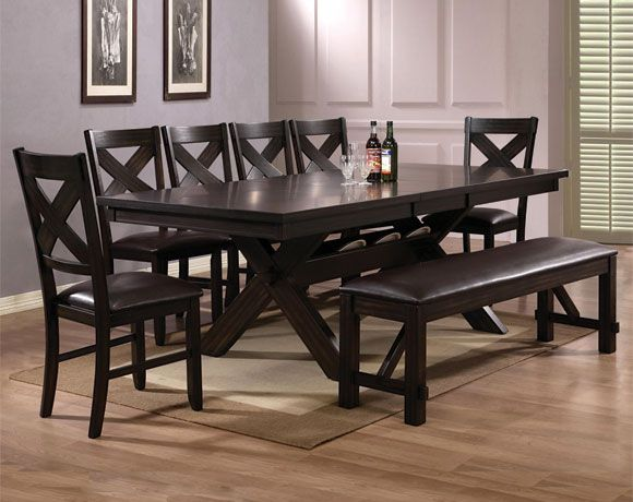 Havana 8 Piece Dining Set | Dining Rooms | American Freight Furniture    Roseville