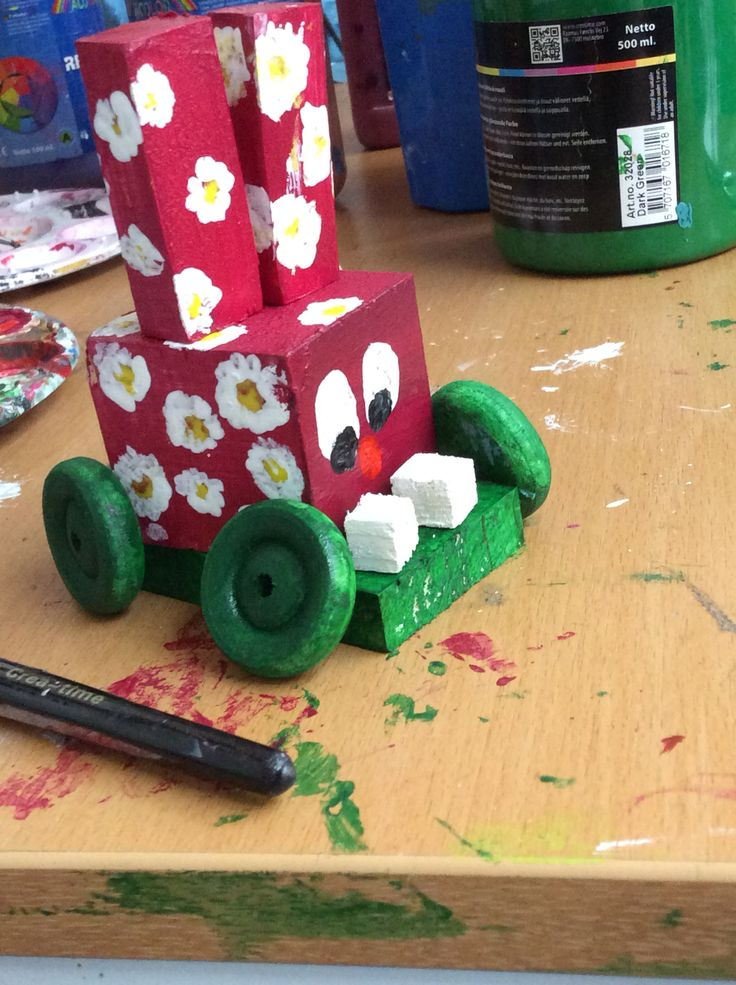 A rabbitcar made in school.,. #madebyme