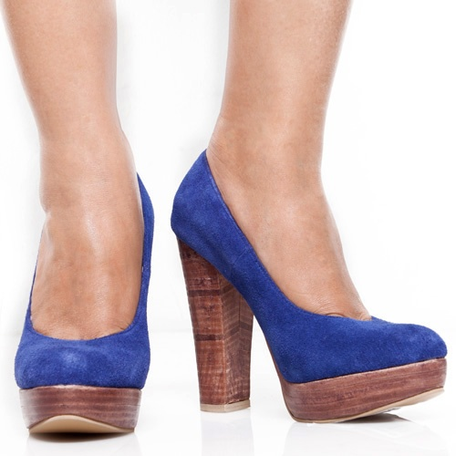 Eight Shoes - Huberta Blue Limited Pump - Rp. 434.500