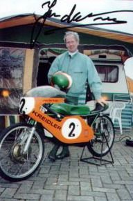 Kreidler - Jan de Vries, World Champion, 50cc class, 1971-1973